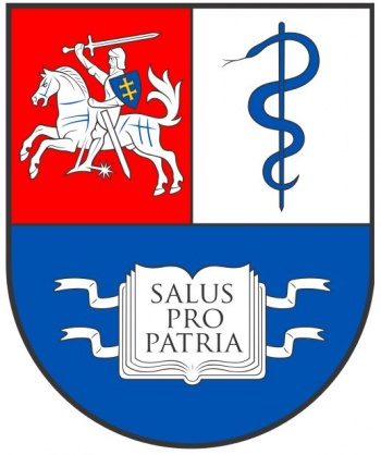 Arms (crest) of Lithuanian University of Health Sciences