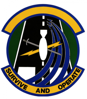 Coat of arms (crest) of the 4th Air Base Operability Squadron, US Air Force