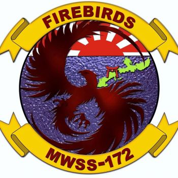 Coat of arms (crest) of the MWSS-172 Firebirds, USMC