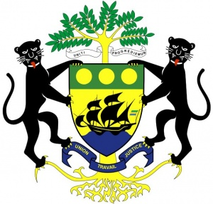 National Arms of Gabon