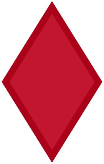 Arms of 5th Infantry Division Red Diamond, US Army