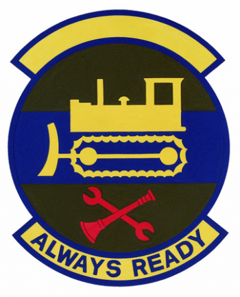 Coat of arms (crest) of the 377th Civil Engineer Squadron, US Air Force