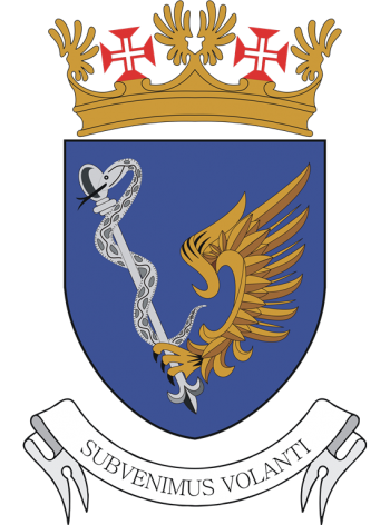 Arms of Aeronautical Medicine Centre, Portuguese Air Force