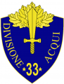 33rd Infantry Division Acqui, Italian Army.png
