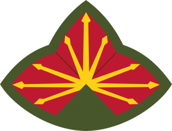 Coat of arms (crest) of the Anti Aircraft Artillery Command Southern Defense Command, US Army