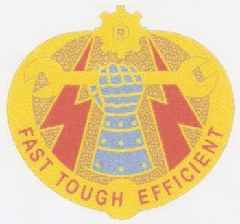 Arms of 242nd Ordnance Battalion, US Army