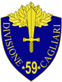 59th Infantry Division Cagliari, Italian Army.png