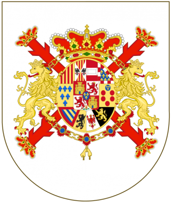 Coat of arms (crest) of the Military Vexillology Course, Spanish Army