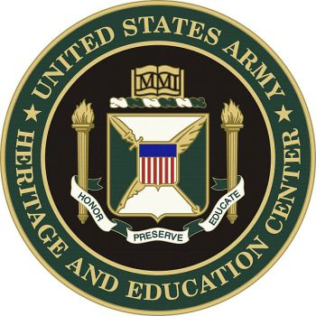 Coat of arms (crest) of the US Army Heritage and Education Center