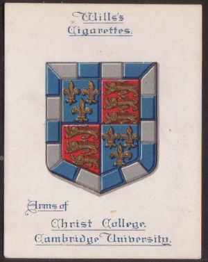 Arms of Christ's College (Cambridge University)
