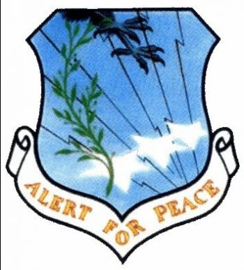 Coat of arms (crest) of the 3974th Combat Support Group, US Air Force
