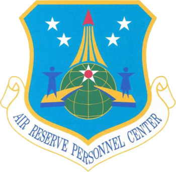 Coat of arms (crest) of the Air Reserve Personnel Center, US Air Force