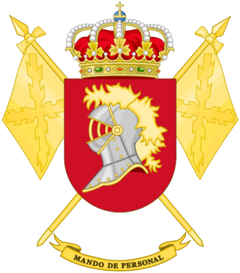 Coat of arms (crest) of the Personnel Command, Spanish Army