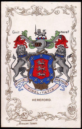 Arms (crest) of Hereford