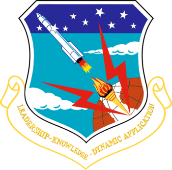 Coat of arms (crest) of the 704th Strategic Missile Wing, US Air Force