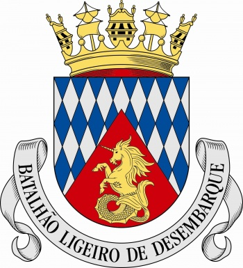 Coat of arms (crest) of the Light Landing Battalion, Portuguese Navy