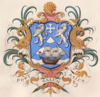 Arms of Blyth Harbour Commission