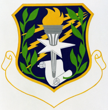 Coat of arms (crest) of the 3270th Technical Training Group, US Air Force