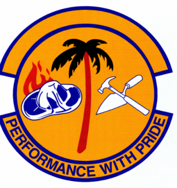 Coat of arms (crest) of the 315th Civil Engineer Squadron, US Air Force