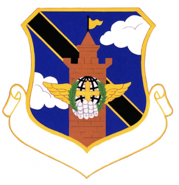 Coat of arms (crest) of the 93rd Combat Support Group, US Air Force