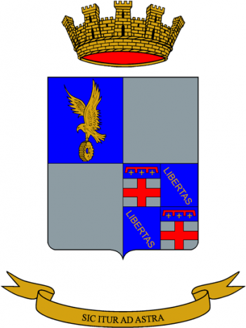 Coat of arms (crest) of the 2nd Army Aviation Support Regiment Orione, Italian Army