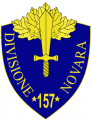 157th Infantry Division Novara, Italian Army.png