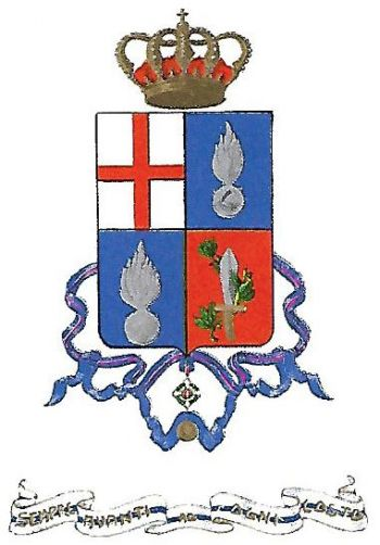 Arms of 74th Infantry Regiment Lombardia, Italian Army