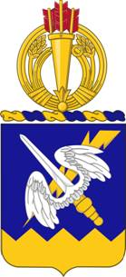 Coat of arms (crest) of the 158th Aviation Regiment, US Army