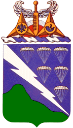 Coat of arms (crest) of the 506th Infantry Regiment, US Army