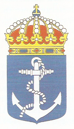 Coat of arms (crest) of the The Coastal Fleet, Swedish Navy