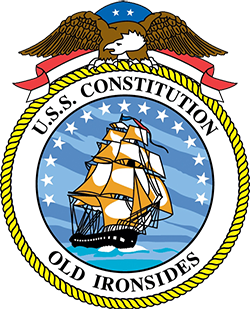 Coat of arms (crest) of the Sailing Frigate USS Constitution