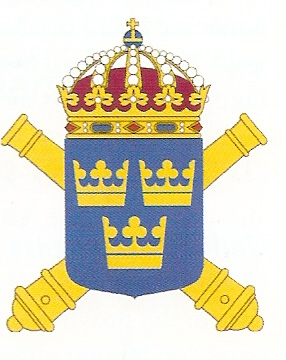 Coat of arms (crest) of the The Artillery Regiment, Swedish Army