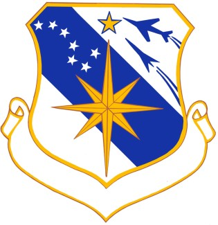 Coat of arms (crest) of the 45th Air Division, US Air Force