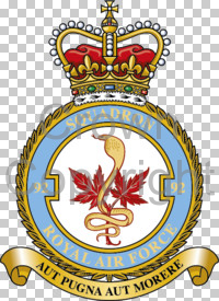 Coat of arms (crest) of the No 92 Squadron, Royal Air Force