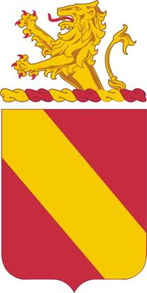 Arms of 35th Field Artillery Regiment, US Army