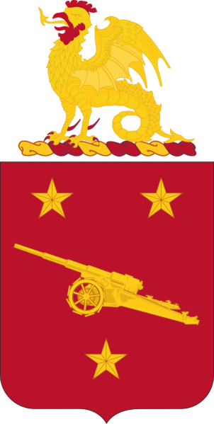 Coat of arms (crest) of the 92nd Coast Artillery Regiment, US Army