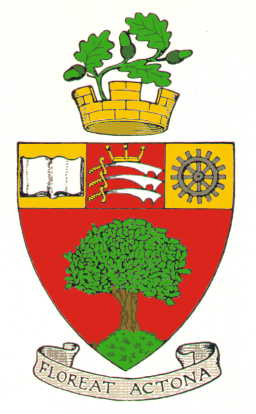 Arms (crest) of Acton