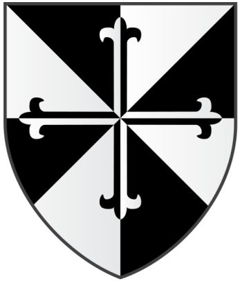 Arms (crest) of Blackfriars Hall (Oxford University)