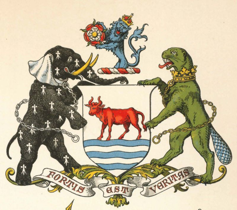 Arms (crest) of Oxford