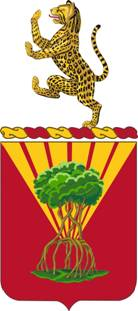 Coat of arms (crest) of the 65th Air Defense Artillery Regiment, US Army