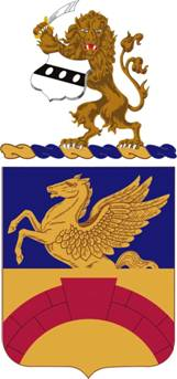 Coat of arms (crest) of the 104th Aviation Regiment, Pennsylvania Army National Guard