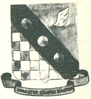 Coat of arms (crest) of the 45th Service Group, USAAF