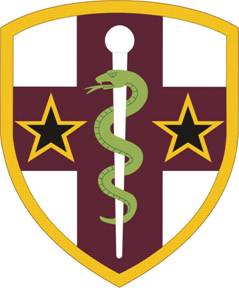 Arms of Army Reserve Medical Command, US Army