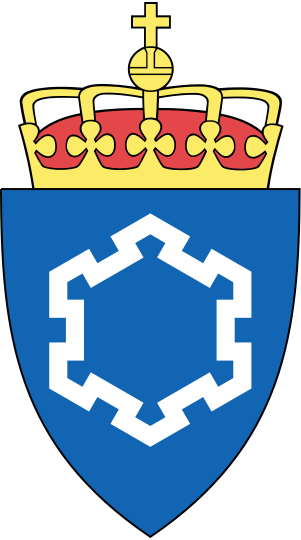 Coat of arms (crest) of the Defence Estates Agency, Norway