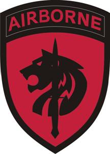 Arms of Special Operations Command Africa (Airborne), US Army