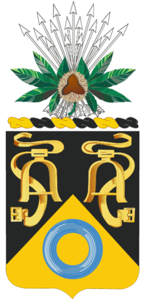 Coat of arms (crest) of the 237th Cavalry Regiment, Ohio Army National Guard