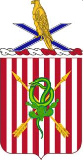 Arms of 2nd Air Defense Artillery Regiment, US Army
