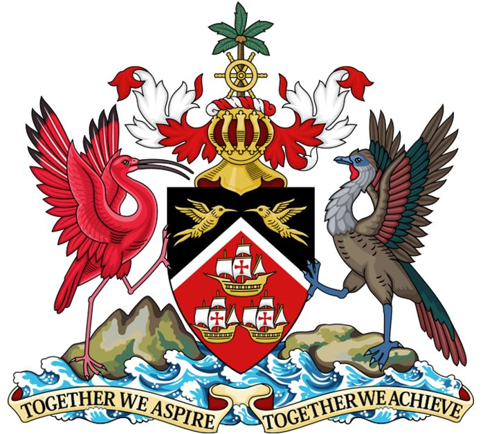 Arms of National Arms of Trinidad and Tobago
