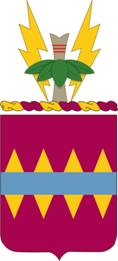Coat of arms (crest) of the 725th Support Battalion, US Army
