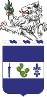 Coat of arms (crest) of the 151st Infantry Regiment, Indiana Army National Guard
